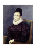 Portrait of Yelizaveta Petrovna Naryshkina (1801-186), 1832 Giclee Print by Nikolai Alexandrovich Bestuzhev