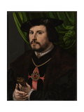 Portrait of Francisco De Los Cobos Y Molina, Ca 1530 Giclee Print by Jan Gossaert