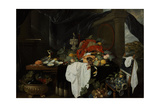 Pronk Still Life with Fruit, Oyters, and Lobsters, C. 1640 Giclee Print by Andries Benedetti