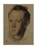 Portrait of Mikhail Aleksandrovich Chekhov, 1921 Giclee Print by Nikolai Andreevich Andreev