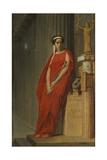 Élisa Rachel as Phèdre Giclee Print by Jean-Léon Gerôme