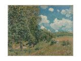 The Road from Versailles to Saint-Germain, 1875 Giclee Print by Alfred Sisley