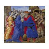 Meeting of Saints Joachim and Anne at the Golden Gate, 1497 Giclee Print by Filippino Lippi