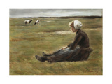 In the Field, C1890 Giclee Print by Max Liebermann