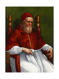 Portrait of Pope Julius II Reproduction procédé giclée par  Raphael