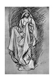 Sketch of Regan, from King Lear, 1899 Giclee Print by Edwin Austin Abbey