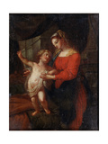 Virgin and Child Giclée-tryk af Carlo Maratta