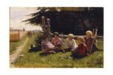 Children in Ambush Giclee Print by Illarion Mikhailovich Pryanishnikov