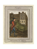 Bellows to Mend, Cries of London, 1804 Giclee Print by William Marshall Craig