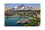 Lucerne, Switzerland, 20th Century Giclee Print