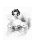 Louise-Marie, Queen of the Belgians, 1832 Giclee Print by  Freeman