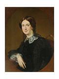 Portrait of N.I. Panina, 1855 Giclee Print by Vasili Andreyevich Tropinin
