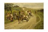 The Return Journey from the Market, 1883 Giclee Print by Illarion Mikhailovich Pryanishnikov