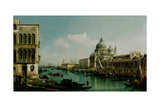 View of the Grand Canal and the Punta Della Dogana, Ca 1743 Giclee Print by Bernardo Bellotto