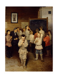 Mental Calculation at Primary School, 1895 Giclee Print by Nikolai Petrovich Bogdanov-Belsky