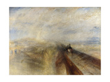 Rain, Steam, and Speed, the Great Western Railway, 1844 Lámina giclée por Joseph Mallord William Turner