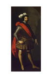 Saint Ferdinand III of Castile, Ca 1630-1634 Giclee Print by Francisco de Zurbarán