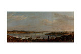 Panoramic View of Istanbul, Second Half of the 18th C Giclee Print by Antoine de Favray