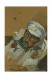 Portrait of Vladimir Alexeyevich Khlebnikov, C. 1895 Giclee Print by Vera Vladimirovna Khlebnikova
