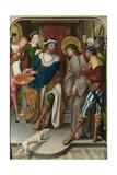 Christ before Pilate (The Liesborn Altarpiec), C. 1520 Giclee Print by Jan Baegert