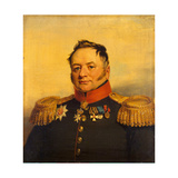 Portrait of Pavel Alexeyevich Tuchkov (1776-185), before 1825 Giclee Print by George Dawe