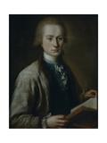 Portrait of Alexei Grigoryevich Spiridov (1753-182), 1772 Giclee Print by Mikhail Shibanov