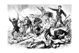 The Last Battle of the Communards May 1871, Paris Commune Giclee Print