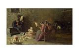 Bagpipers of Brianza, C. 1883-1885 Giclee Print by Giovanni Segantini