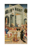 The Head of Saint John the Baptist Brought before Herod, 1455-1460 Giclee Print by Giovanni di Paolo