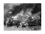 Battle of La Hogue, 19 May 1692 Giclee Print by Benjamin West
