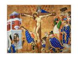 The Last Communion and Martyrdom of Saint Denis, 1415-1416 Giclée-Druck von Henri Bellechose