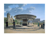 The Granite Dish in the Berlin Lustgarten, 1831 Giclee Print by Johann Erdmann Hummel
