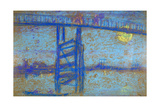 Nocturne: Battersea Bridge, 1872-1873 Giclee Print by James Abbott McNeill Whistler