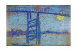 Nocturne: Battersea Bridge, 1872-1873 Giclee Print by James Abbott McNeill Whistler