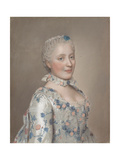 Portrait of Princess Maria Josepha of Saxony, 1749 Giclee Print by Jean-Étienne Liotard