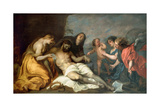 The Lamentation over Christ, Ca 1637-1640 Giclee Print by Anthonis van Dyck