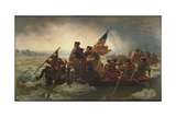 Washington Crossing the Delaware, 1851 Giclee Print by Emanuel Leutze