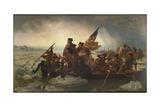 Washington cruzando el Delaware, 1851 Lámina giclée por Emanuel Leutze