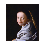 Study of a Young Woman, Ca. 1665-1667 Giclee Print by Jan Vermeer