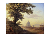 The Torquato Tasso's Oak in Rome, 1848 Giclee Print by Maxim Nikiphorovich Vorobyev