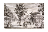 Vauxhall Gardens, Lambeth, London, C1751 Giclee Print by Samuel Wale