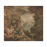 Landscape with a Scene of Enchantment, Ca 1590 Giclee Print by Paolo Fiammingo