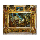 Design for Theater Curtain (A Midsummer Night's Drea), 1872 Giclee Print by Hans Makart
