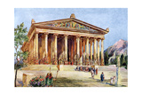 The Temple of Artemis, Ephesus, Turkey, 1933-1934 Giclee Print
