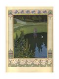 Illustration to the Fairytale the White Duck, 1902 Giclée-Druck von Ivan Yakovlevich Bilibin