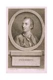 Portrait of Denis Diderot Giclee Print by Augustin De Saint-aubin