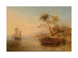 The Rescue of William D'Oyly, 1841 Giclee Print by John Wilson Carmichael