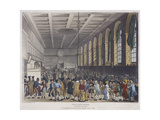 Fire at Custom House, London, 1814 Giclee Print by Frederick Calvert
