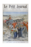 A Round Up in Southen Oranais, Algeria, 1900 Giclee Print