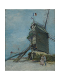 Le Moulin De La Galette, 1886 Giclee Print by Vincent van Gogh